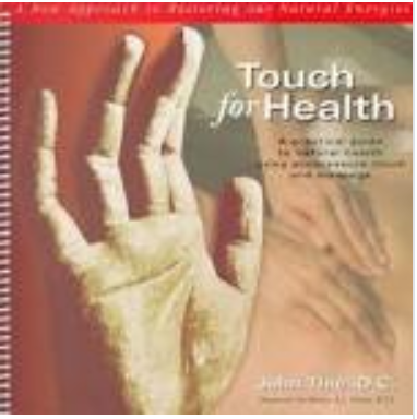 Touch for health manual cover